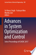 Advances In System Optimization And Control Book PDF