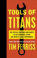 Pdf Tools of Titans Telecharger