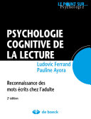 Psychologie cognitive de la lecture
