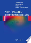 STOP, THAT and One Hundred Other Sleep Scales