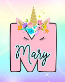 Mary, Girls Unicorn Journal to Write in – Personalized Journal by Emma Starr PDF