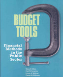 Budget Tools  Financial Methods In the Public Sector