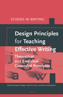 Design Principles for Teaching Effective Writing