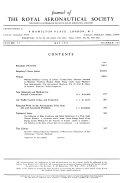 Journal of the Royal Aeronautical Society