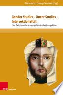 Gender Studies – Queer Studies – Intersektionalität