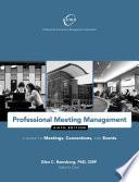 Professional Meeting Management
