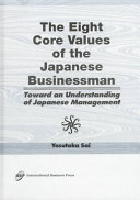 The Eight Core Values of the Japanese Businessman