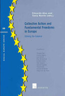 Collective Action and Fundamental Freedoms in Europe Book