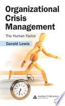 Organizational Crisis Management