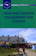 Crisis And Disaster Management For Tourism Book PDF