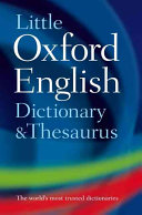 Little Oxford Dictionary and Thesaurus ebook