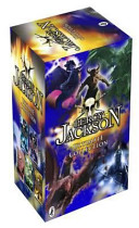 Percy Jackson Collection, - The Lightning Thief, the Last Olympian, Titans Curse, Battle of the Labyrinth image