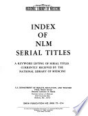 Index of NLM Serial Titles