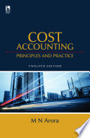 Cost Accounting  Principles   Practice  12th Edition