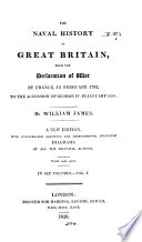 The Naval History Of Great Britain From 1793 To 1820 With An Account Of The Origin And Increase Of The British Navy Book PDF