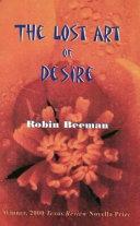 The Lost Art of Desire Book