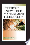 Strategic Knowledge Management Technology Book PDF