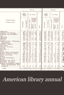 The American Library Annual
