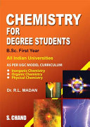 Chemistry for Degree Students  B Sc  1St Yr
