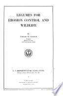 Legumes for Erosion Control and Wildlife