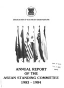Annual Report of the ASEAN Standing Committee