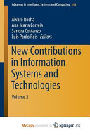 New Contributions in Information Systems and Technologies
