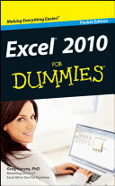 Pdf Excel 2010 For Dummies Telecharger