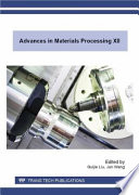 Advances in Materials Processing XII Book