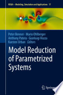 Model Reduction of Parametrized Systems Book