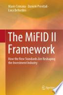The MiFID II Framework
