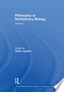 Philosophy of Evolutionary Biology