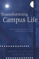 Transforming Campus Life Book PDF