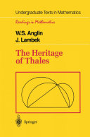 The Heritage of Thales Pdf