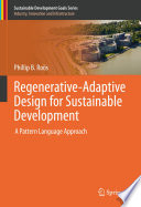 Regenerative Adaptive Design for Sustainable Development