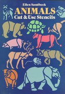 Animals Cut and Use Stencils