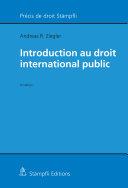 Pdf Introduction au droit international public Telecharger
