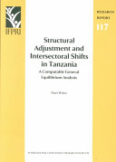 Structural Adjustment and Intersectoral Shifts in Tanzania