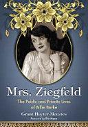 Mrs. Ziegfeld
