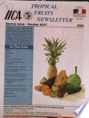 Tropical Fruits Newsletter No 46 47 Book PDF