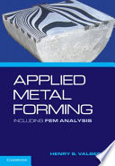 Applied Metal Forming Book PDF