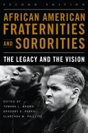 Pdf African American Fraternities and Sororities Telecharger