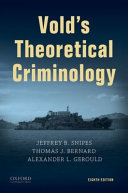 Cover of Vold's Criminological Theory