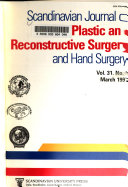 Scandinavian Journal of Plastic and Reconstructive Surgery and Hand Surgery