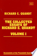 The Collected Essays of Richard E  Quandt