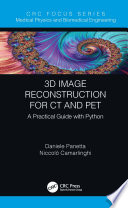 3D Image Reconstruction for CT and PET