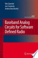 Baseband Analog Circuits For Software Defined Radio Book PDF