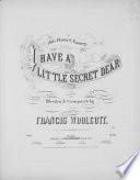 I Have a Little Secret Dear Book