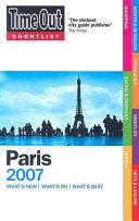 Time Out Shortlist 2007 Paris