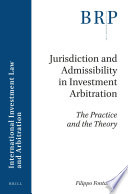 Jurisdiction and Admissibility in Investment Arbitration Pdf/ePub eBook
