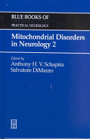 Mitochondrial Disorders In Neurology 2 Book PDF